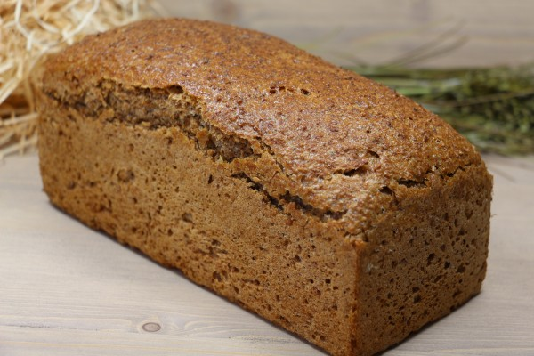 Bio-Roggen-Dinkel-Brot - Laib